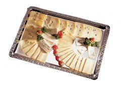 Serveringsfad med barok kant, retangulær 53x32,5cm