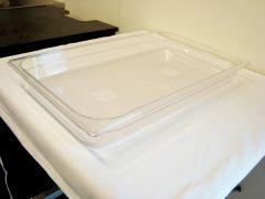 Gastrobakke klar polycarbonat 1/1gn 9,0L, dybde 6,5 cm