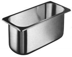 Kantine stål 1/3gn 5,4L , dybde 15,0 cm