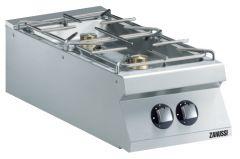zanussi EVO900 kogebord til gas 2 blus
