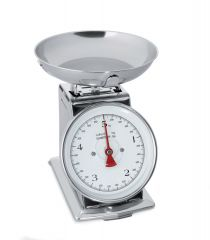 Vægt skala optil 5 kg  interval 20 gr.