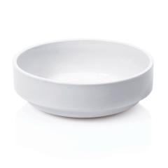 Skål i hvid porcelæn ø18cm