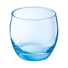 Salto glas blå 32cl Ø90 H84