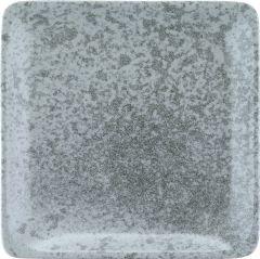 Bauscher Tallerken Sandstone flad 19x19 cm grey