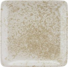 Bauscher Tallerken Sandstone flad 19x19 cm beige
