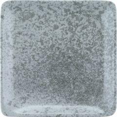 Bauscher Tallerken Sandstone flad 29x29 cm grey