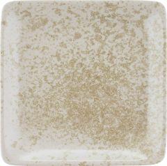 Bauscher Tallerken Sandstone flad 29x29 cm beige
