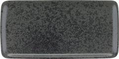 Bauscher Tallerken Sandstone rektangulær 30 x 15 cm black