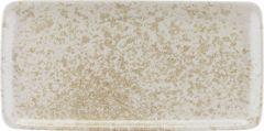 Bauscher Tallerken Sandstone rektangulær 30 x 15 cm beige