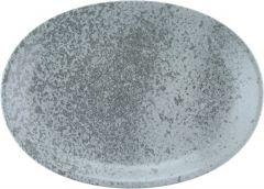 Bauscher Tallerken Sandstone oval coup 32 cm grey