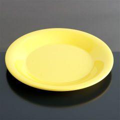 Melamin tallerken flad Ø230 mm GUL