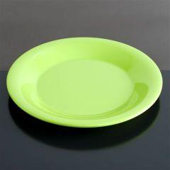 Melamin tallerken flad Ø230 mm GRØN
