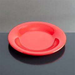 Melamin tallerken flad Ø200 mm RØD