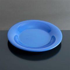 Melamin tallerken flad Ø200 mm BLÅ