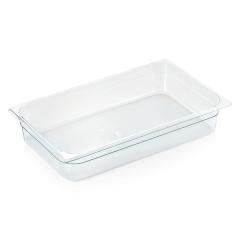 Gastrobakke klar polycarbonat 1/1gn 14,0L, dybde 10,0 cm