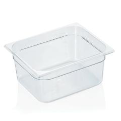 Gastrobakke klar polycarbonat 1/2gn 9,2 L, dybde 15,0 cm