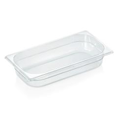 Gastrobakke klar polycarbonat 1/3gn 2,4L , dybde 6,5 cm