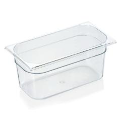 Gastrobakke klar polycarbonat 1/3gn 5,4L , dybde 15,0 cm