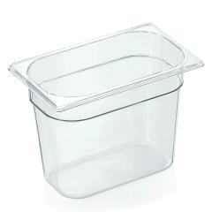 Gastrobakke klar polycarbonat 1/4gn 5,5L , dybde 20,0 cm