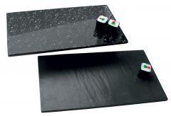 Melamin buffetplade granit/skifer 1/2 gn
