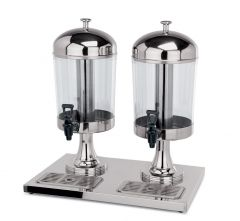 Dispenser beholder polycarbonat. 2x8,5L
