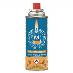 Gasdåse 400 ml med gevind passer til gasbrænder 16138