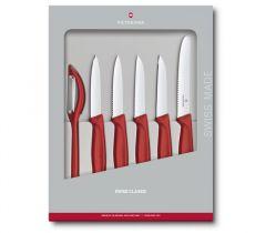 Victorinox Gaveæske med urteknive rød