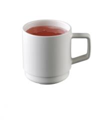 Hvid Melamin kop