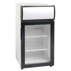 Køleskab display 50L med lystop