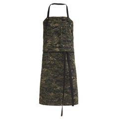 Forklæde smæk camouflage RAW B90xH84 cm