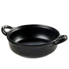 Melamin skål lille sort Ø15 H5,7 cm