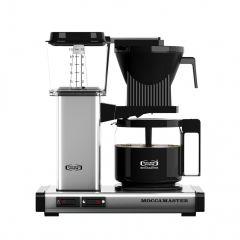 mocca master kaffemaskine sølv