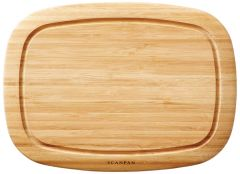 Scanpan Classic Bambus skærebræt med rille 35x26 cm