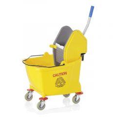 Vogn rengøringsspand med moppevrider