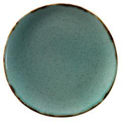 Trend Split turkis tallerken Ø29 cm