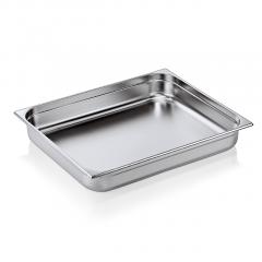 Gastrobakke stål 2/1- 10,0 cm 28,5 liter