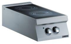 Zanussi EVO900 kogebord til el med 2 zoner