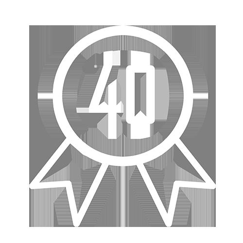 40 års erfaring