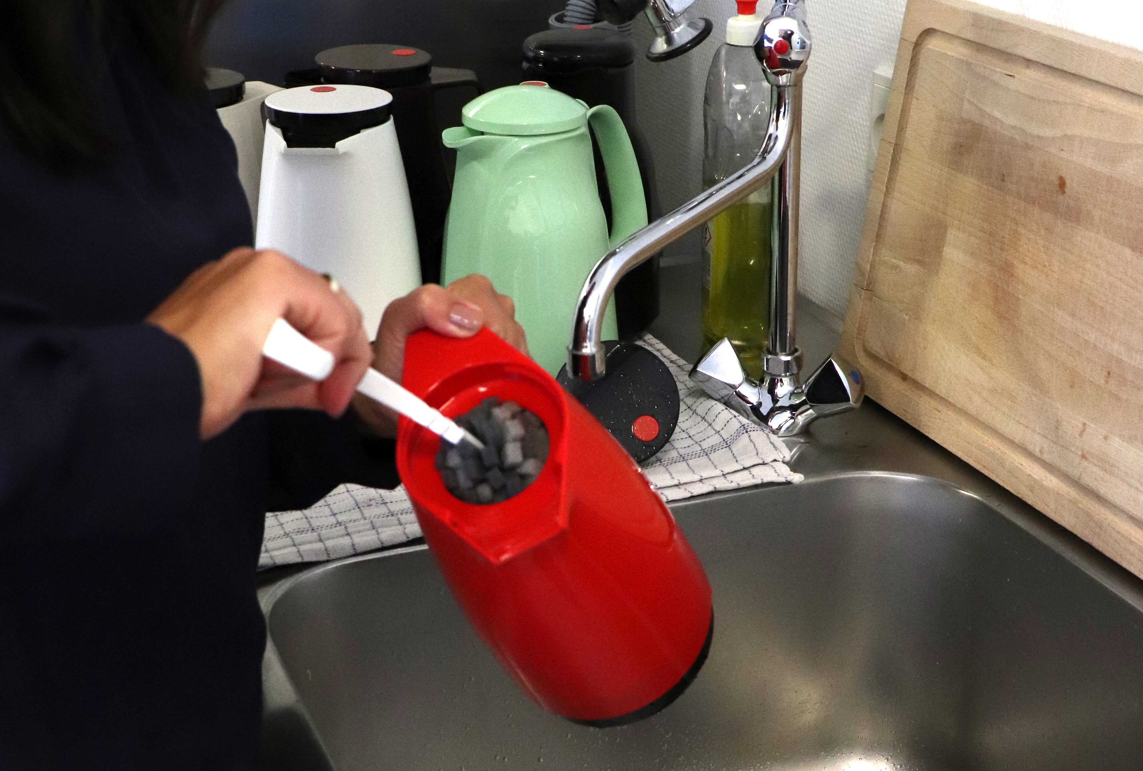 Rengør Rotpunkt Termokande med børste