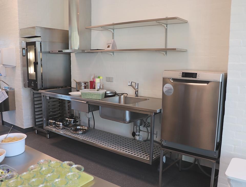 Køkkenet ovnsiden